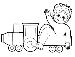 Unique Coloring Pictures Of Toys Colouring For Sweet Unique Train