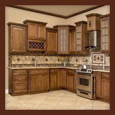 Kitchen cabinet pictures Dark Wood 10x10 All Solid Wood Kitchen Cabinets Geneva Rta Bertch Cabinets Kitchen Cabinet Ebay