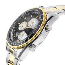 accurist gents two tone chronograph bracelet watch for £82 50 tobidornot com wp content uploads