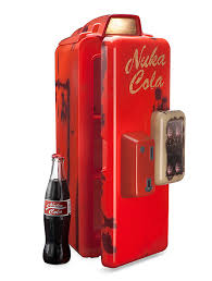 Coca Cola Mini Vending Machine Magnificent Fallout Nuka Cola Machine Mini Refrigerator ThinkGeek