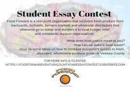 Food Forward Ventura County Fair Essay Contest For Students