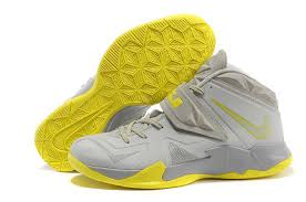 lebron shoes 2013. 180-159230 nike lebron 7 vii soldier 2013 grey yellow running shoes,nike free shoes