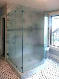 how to clean etched glass shower doors cleaning frosted glass etched glass shower doors custom frosted