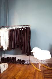 There's no reason to let limited closet space cramp your style. With a garment  rack you can turn your wardrobe into a display and free up precious closet  ...