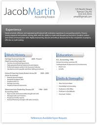Free Modern Resume Templates For Word Free Modern Resume Template 1 ...