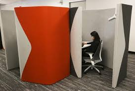 office privacy pods. an open office that people actually like? privacy pods