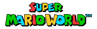Datei:Super Mario World game logo.svg – Wikipedia