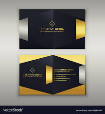 Card Design Template Premium Luxury Business Card Design Template