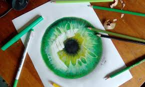 how to draw a hyper realistic eye jacksepticeye sd drawing you