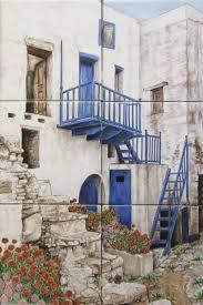 Tile Murals For Kitchen Tuscan Mediterranean Italian Wine Country Kitchen Murals By Julia