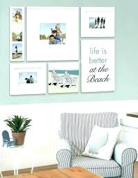 picture frames wall ideas memory living room decorating beach gallery with a life hanging on in