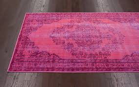 chroma overdyed rug in pink 22
