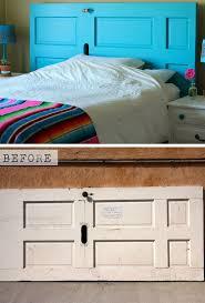diy bedroom decorating ideas on a budget. Door Headboard | Tutorial 22 Small Bedroom Decorating Ideas On A Budget Easy DIY Decor Diy M