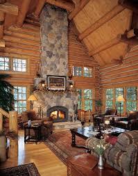 Fair Oaks Log Home And Log Cabin Floor Plan 2084sf Main Floor Open Log Home Floor Plans