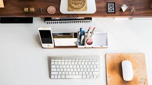 office work desk. 10 Cool Office Gadgets That Will Make Your Work Desk Organized And Boost  Productivity Office Work Desk