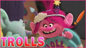 Trolls Holiday Coloring Poppy Branch Troll Kids Coloring Book
