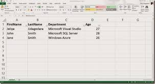 Writing Data In Excel File Into A Database Using A Dataset And