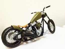 custom chopper bobber by kman105 on deviantart
