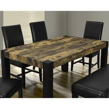 Distressed Black Kitchen Table 38x 64 Distressed Reclaimed Look Black Dining Table I 1620