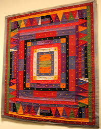 Quilts and Color: The Pilgrim/Roy Collection — Museum of Fine Arts ... & Center Medallion tied child's comforter: Missouri, 1910 Adamdwight.com