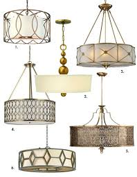 a flurry of antique inspired light fixtures