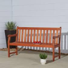 Outdoor <b>Benches</b> - Patio Chairs - The Home Depot