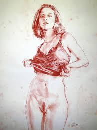 Naked women drawings erotic