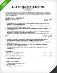 Line Cook Resume Example New Line Cook Resume Sample Example Lead Reddit Kitchen Cherrytextads