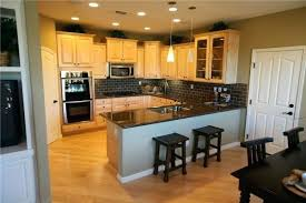 Kitchen Colors With Light Wood Cabinets Interesting Decorating