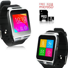 Indigi® NEW <b>SmartWatch 3G Android</b> Watch OS KitKat WiFi GPS ...