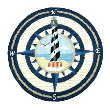 elegant round nautical rugs on inspiration with beach for kitchen compass rose rug compass rose throw