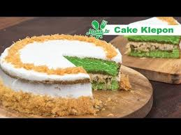 Cake is a form of food, typically a sweet, baked dessert. Cake Klepon Patiseri 053 Youtube
