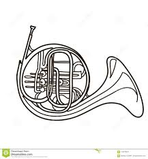 coloring realistic saxophone ilration drawing ilration white background stock ilration ilration of instrument