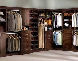wood bedroom closet organizers