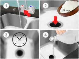 how to unclog a kitchen sink with standing water garbage disposal clogged
