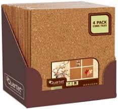 Quartet Natural Cork Tiles