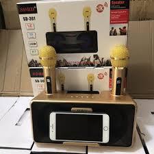 ĐÁNH GIÁ] Loa Karaoke Bluetooth SDRD - SD301 KÈM 2 MIC, Giá rẻ 850,000đ!  Xem đánh giá! - Cửa Hàng Giá Rẻ