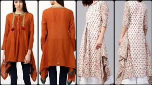 Elegance Designer Wear Most Elegance Designer Cotton Kurti Stylish Winter Dress Collection 2019 20