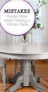 painting a kitchen or dining table isn t really much more difficult than painting any other piece of furniture the main factor to be concerned about when