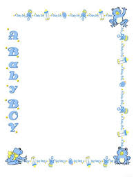 girly borders for microsoft word free baby shower border templates cliparts co baby shower