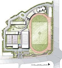 Landscape Design School School Master Plan Landscape Design School Building