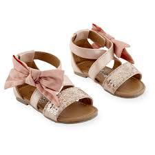 Koala Baby Shoes Size Chart Koala Kids Girls Hard Sole Sequin Strap Sandal With Ankle