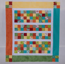 Fast Scrappy Four Patch Baby Quilt | Beyond Sock Monkeys ~ My ... & Fast Scrappy Four Patch Baby Quilt Adamdwight.com