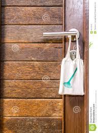 Backyards : Please Clean Room Sign Hang Door Knob Stock Photo ...