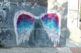 angel wings wall miller angel wings mural u street alley way wall dc angel wings wall angel wings wall