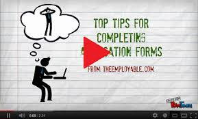 Tips For Completing Application Forms Top Tips For Completing Application Forms Theemployable