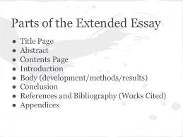 ib biology extended essay requirements for utsa research paper  philosophy essay on mind and body