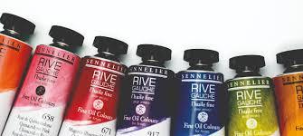 Sennelier Ink Color Chart Buy Sennelier Rive Gauche Oil Paint