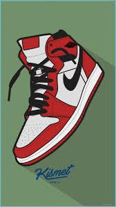 AIR JORDAN 9 WALLPAPER Sneakers Drawing ...