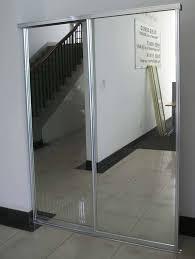 image of sliding mirror closet doors size